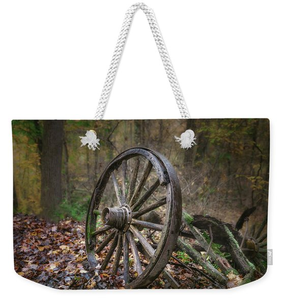 Abandoned Wagon Weekender Tote Bag