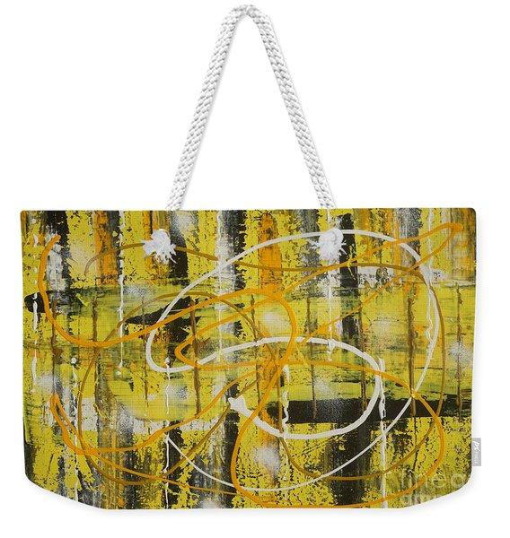 Abstract_untitled Weekender Tote Bag