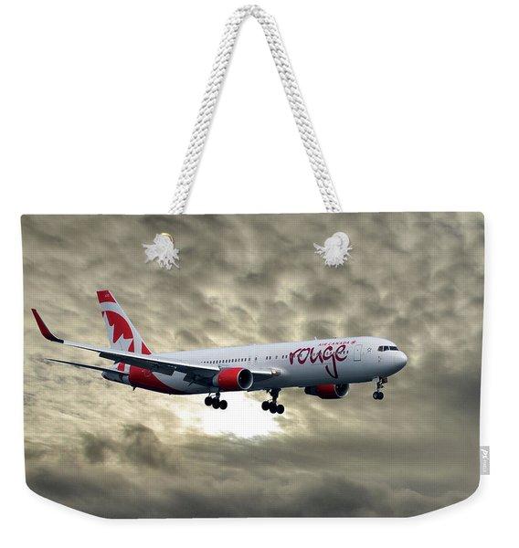 Air Canada Rouge Boeing 767-333 Weekender Tote Bag