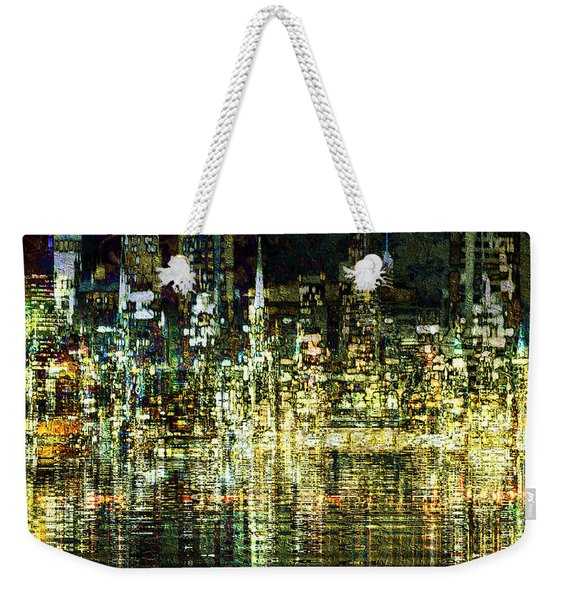 All That Glitters Weekender Tote Bag