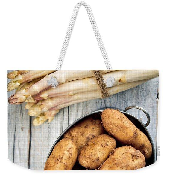 Asparagus Weekender Tote Bag