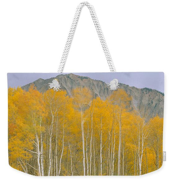 Autumn Clouds At Kebler Pass, Gunnison Weekender Tote Bag