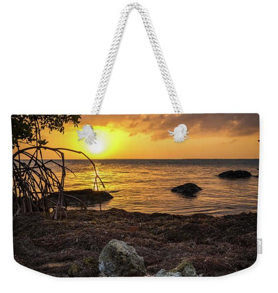 Bahia Honda Sunset Weekender Tote Bag
