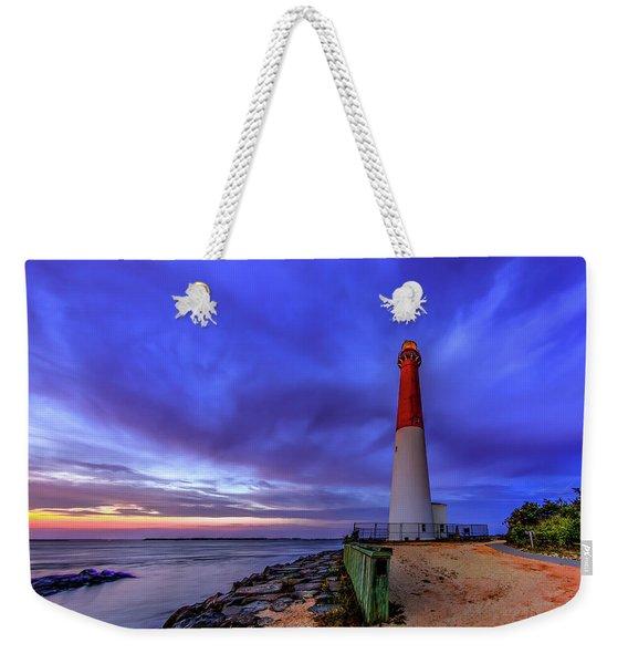 Barnegat Lighthouse Weekender Tote Bag
