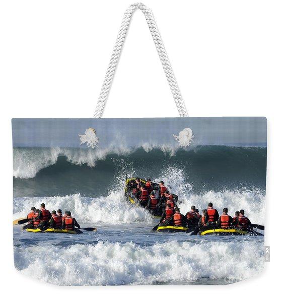 Basic Underwater Demolitionseal Weekender Tote Bag