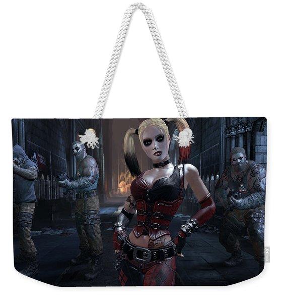 Batman Arkham City Weekender Tote Bag