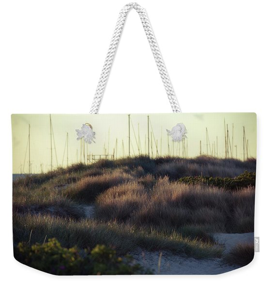 Beach Houses And Dunes Weekender Tote Bag
