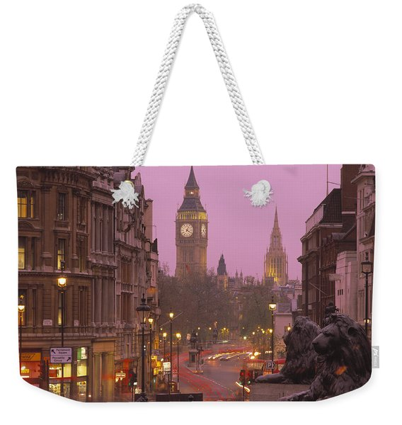 Big Ben London England Weekender Tote Bag