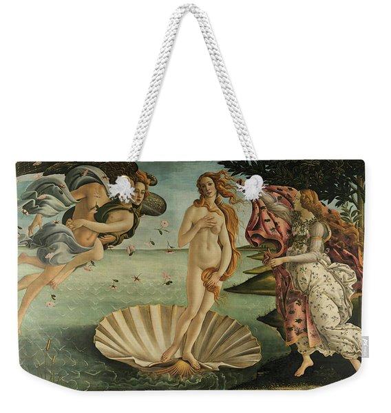 The Birth Of Venus, Detail Weekender Tote Bag