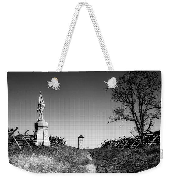 Bloody Lane - Antietam Battlefield Weekender Tote Bag