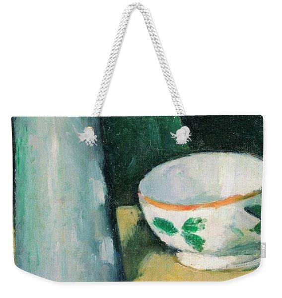 Bowl And Milk-jug Weekender Tote Bag