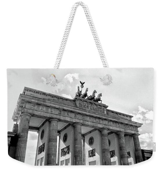 Brandenburg Gate - Berlin Weekender Tote Bag