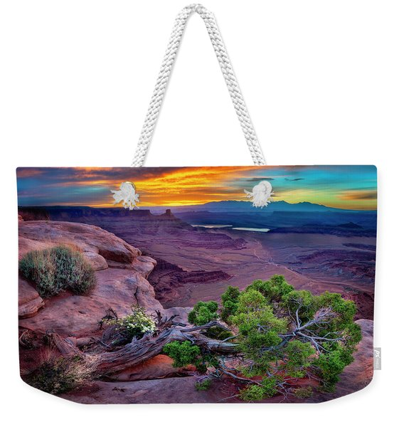 Canyonlands Sunrise Weekender Tote Bag