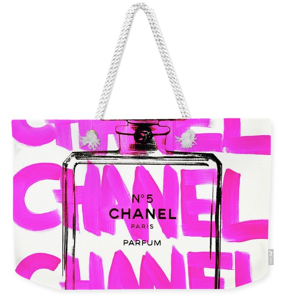 Chanel Chanel Chanel  Weekender Tote Bag
