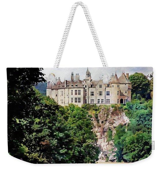 Chateau De Walzin - Belgium Weekender Tote Bag