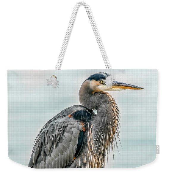 Chesapeake Bay Great Blue Heron Weekender Tote Bag