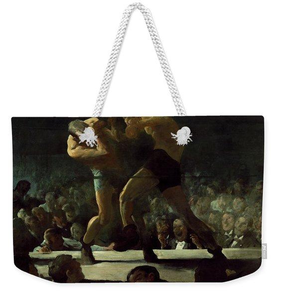 Club Night Weekender Tote Bag