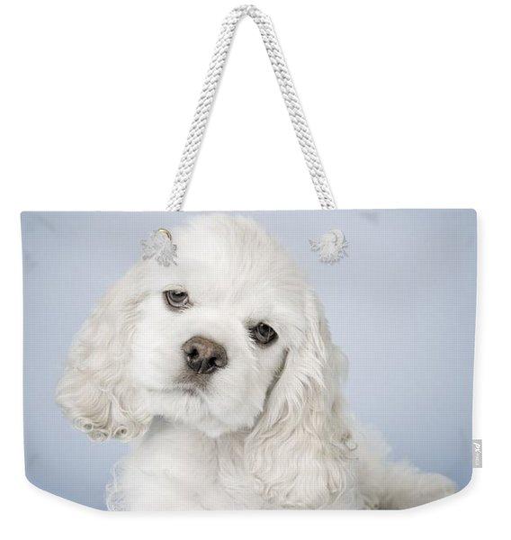 Cocker Spaniel Weekender Tote Bag