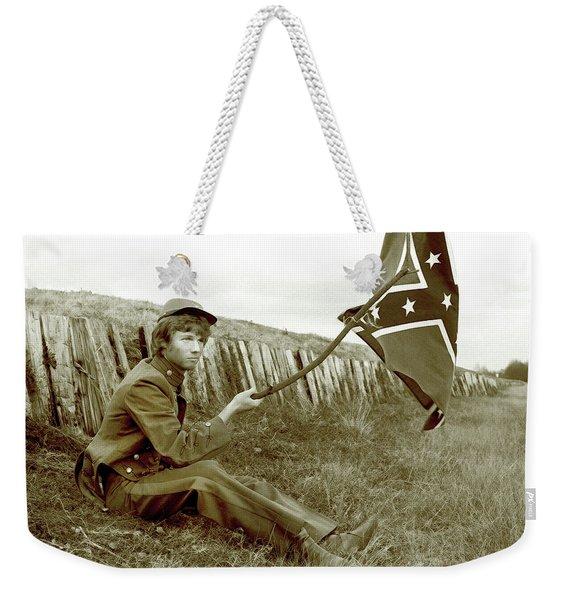 Confederate Soldier Weekender Tote Bag