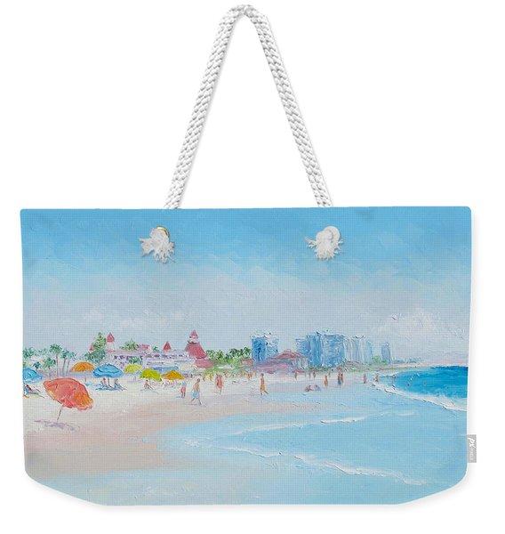 Coronado Beach - San Diego Weekender Tote Bag