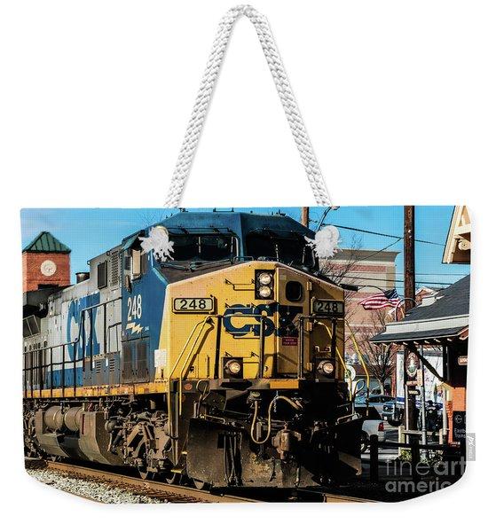Csx Engine Gaithersburg Maryland Weekender Tote Bag