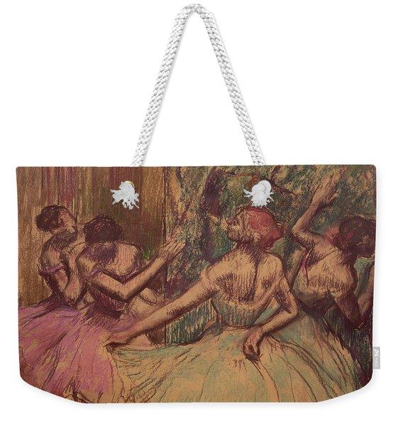 Dancers In The Wings Weekender Tote Bag