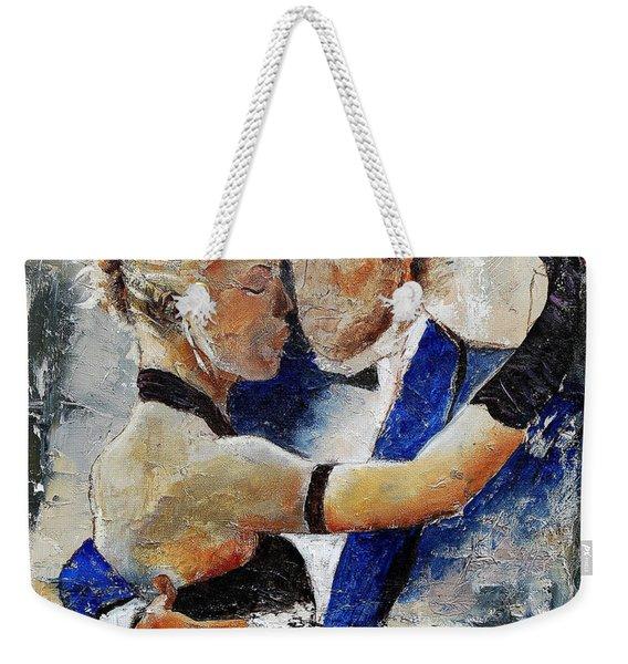 Dancing Tango Weekender Tote Bag