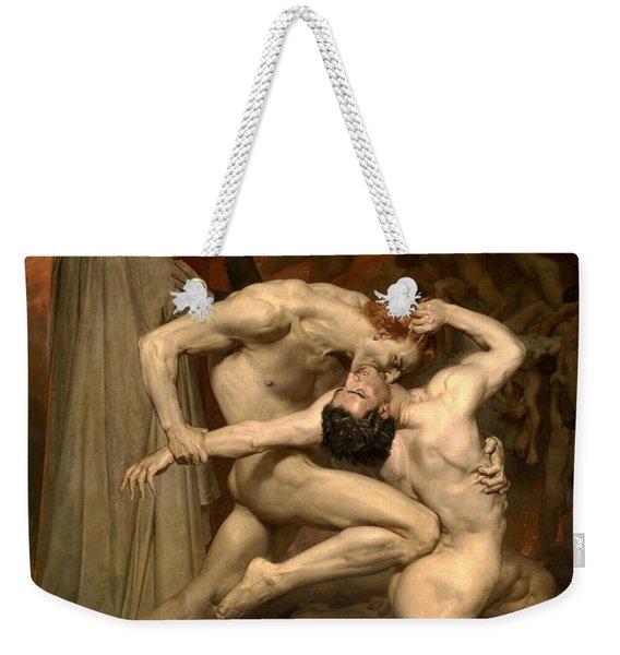 Dante And Virgil In Hell  Weekender Tote Bag