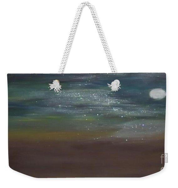 Desert Moonlight Weekender Tote Bag
