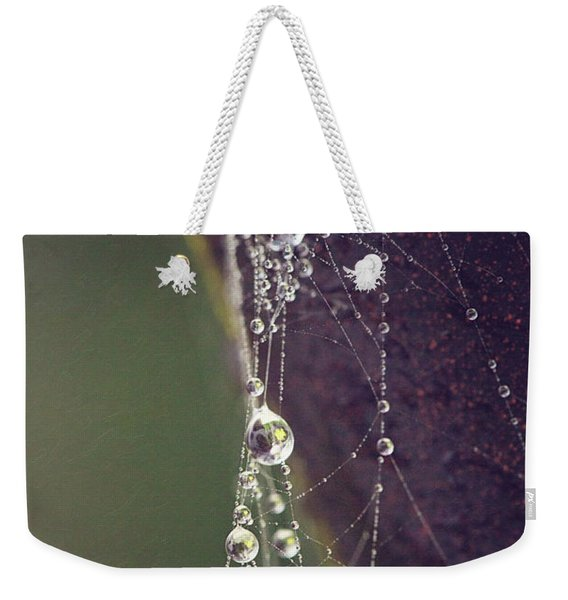 Droplets Weekender Tote Bag