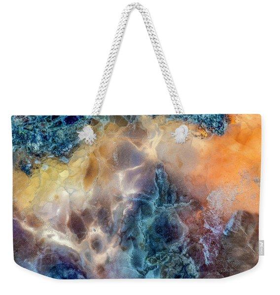 Earth Portrait Weekender Tote Bag