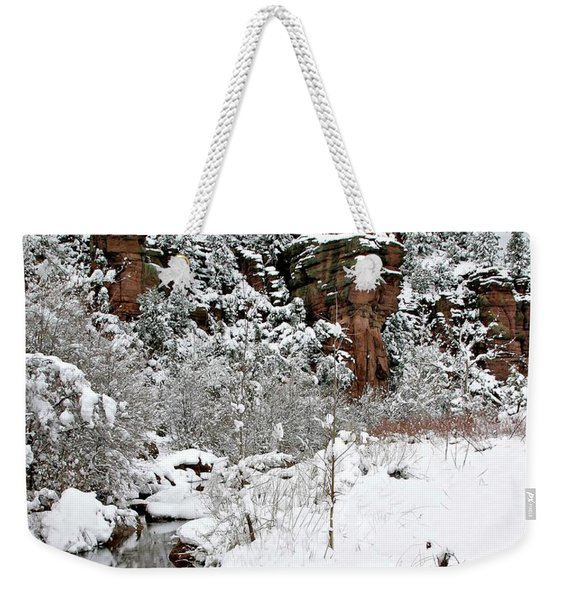 East Verde Winter Crossing Weekender Tote Bag