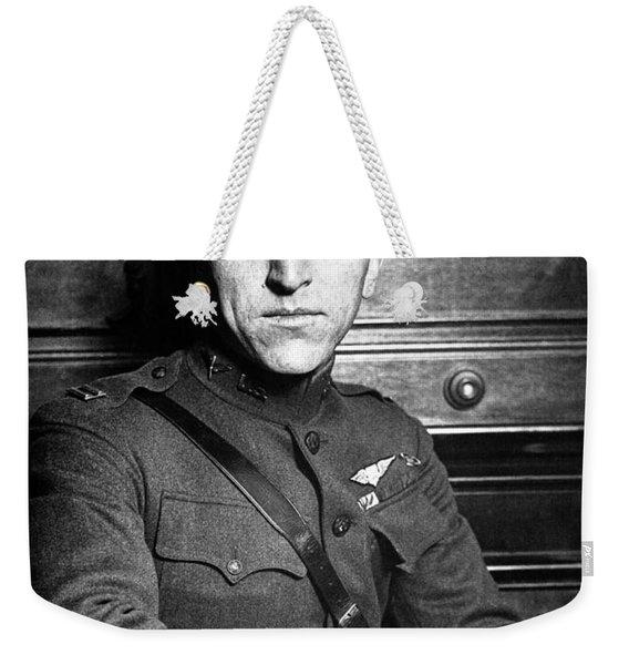 Eddie Rickenbacker Weekender Tote Bag