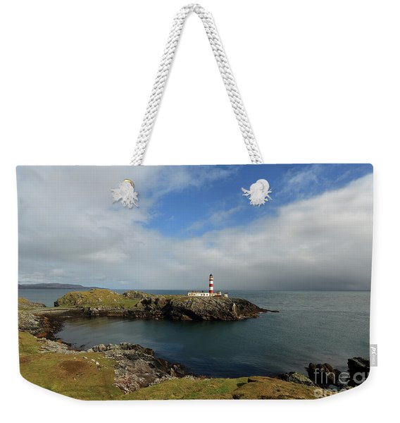 Eilean Glas Lighthouse Weekender Tote Bag
