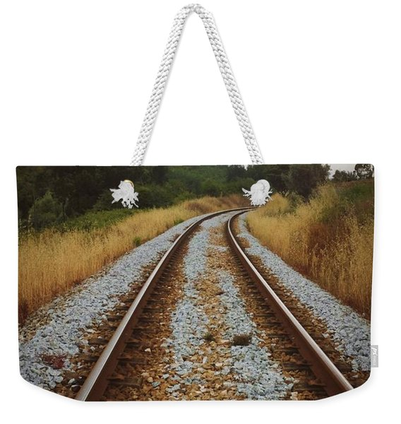 Empty Railway Weekender Tote Bag