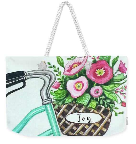 Enjoy The Ride Weekender Tote Bag