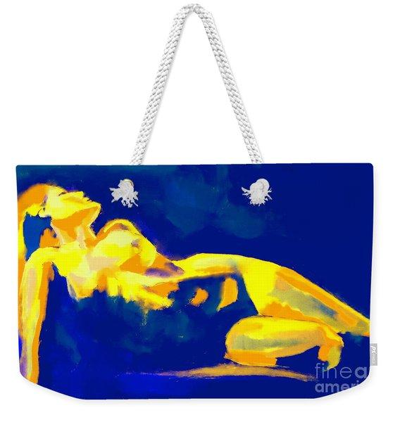 Evening Nude Weekender Tote Bag