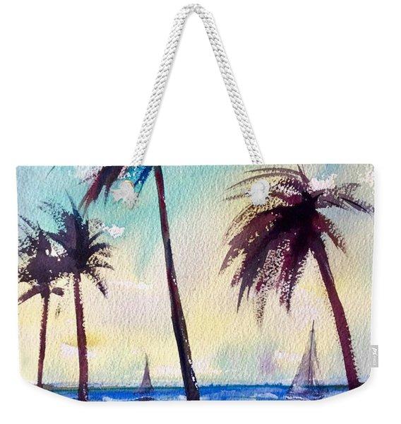 Evening Solitude Weekender Tote Bag