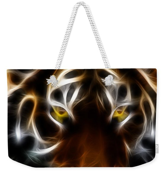Eye Of The Tiger Weekender Tote Bag