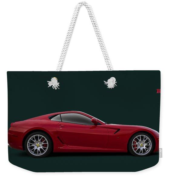 Ferrari 599 Gtb Weekender Tote Bag