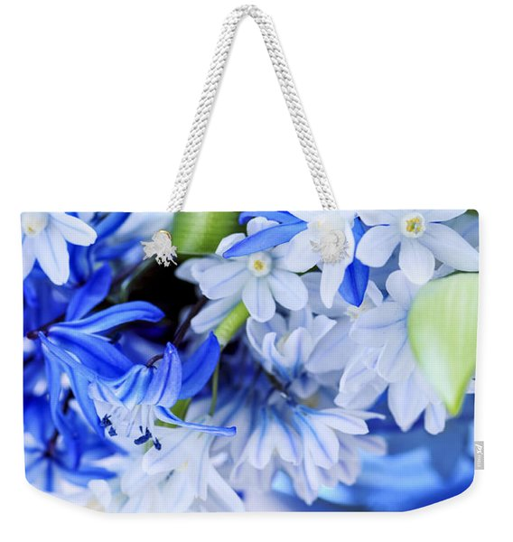 First Spring Flowers Weekender Tote Bag