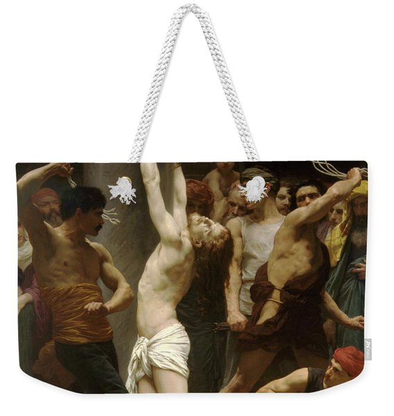 Flagellation Of Christ Weekender Tote Bag
