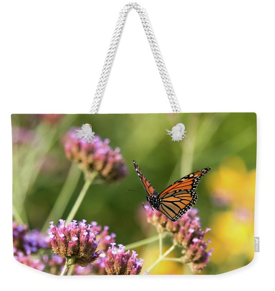 Flight Of The Monarch 1 Weekender Tote Bag