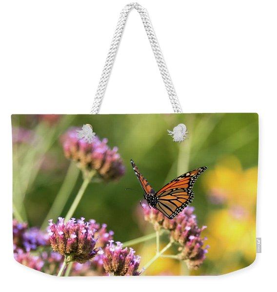 Flight Of The Monarch 1 Weekender Tote Bag