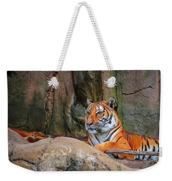 Fort Worth Zoo Tiger Weekender Tote Bag