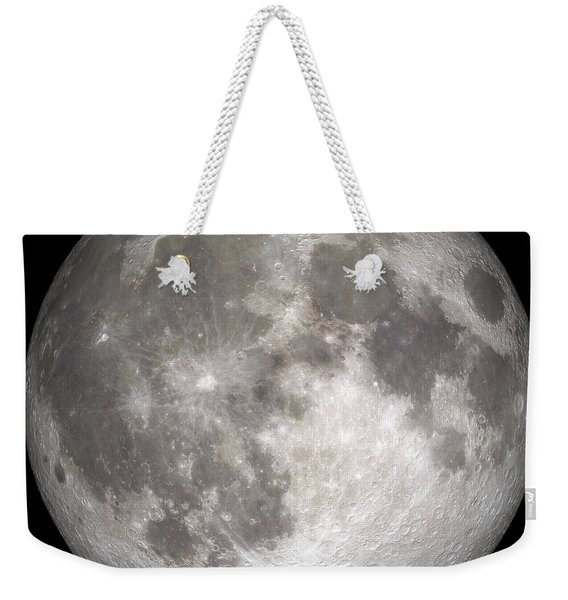 Full Moon Weekender Tote Bag