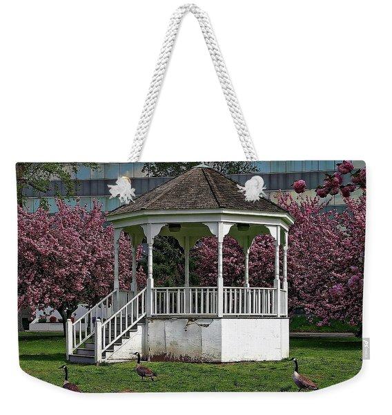 Gazebo In The Park Weekender Tote Bag