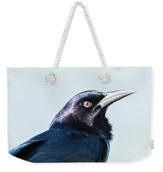 Grackle Weekender Tote Bag