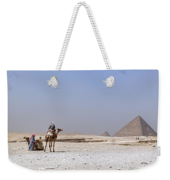 Great Pyramids Of Giza - Egypt Weekender Tote Bag