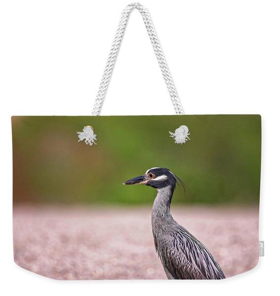Green Heron Weekender Tote Bag